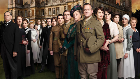 Downton Abbey cast shot
