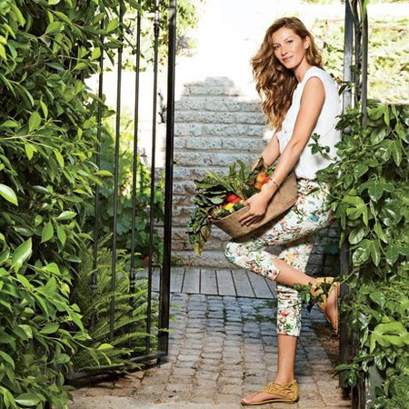 Take a tour inside model Gisele's home