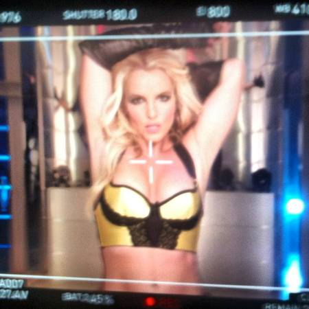 Britney Spears in 'Werk Bitch' music video still