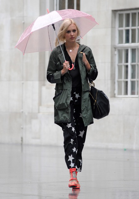 Fearne Cotton pictured in London