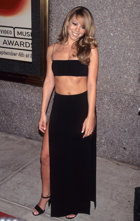 Mariah Carey at MTV Video Music Awards in 1997