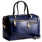 BAG LOVE: H&M's navy blue small structured handbag