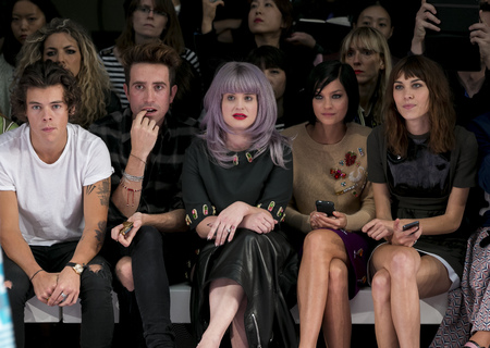 House of Holland SS14 London Fashion Week FROW