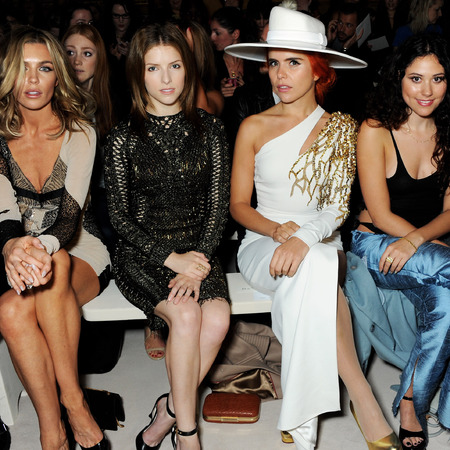 LFW SS14 Frow, Abbey Clancy, Anna Kendrick, Paloma Faith, Eliza Doolittle, Laura Whitmore