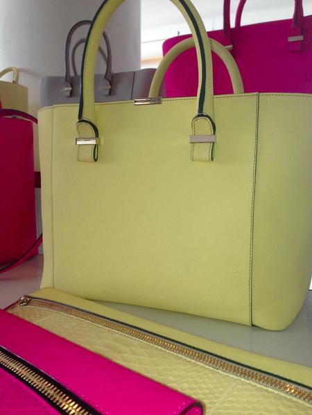 Victoria Beckham NYFW SS14 Quincy handbag