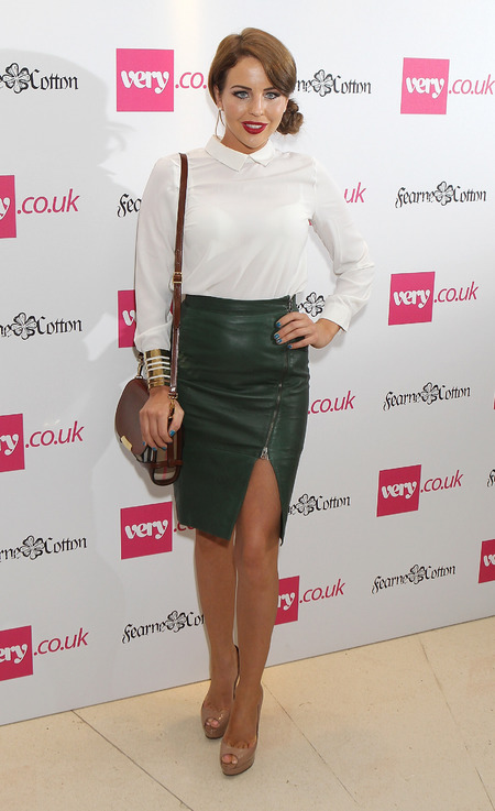 Lydia Bright attends Fearne Cotton SS14 for Very