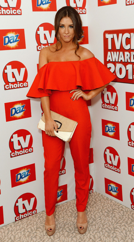 Brooke Vincent at the TV Choice Awards 2013