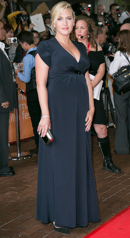 Kate Winslet at the Labour Day premiere