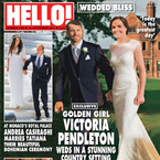Victoria Pendleton marries in Suzanne Neville gown