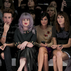 The Brit-pack FROW at House of Holland SS14