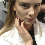LFW SS14: Silver eyes & striking nails at John Rocha
