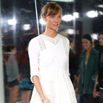 SHOP: Karlie Kloss walks in ASOS dress backstage at NYFW