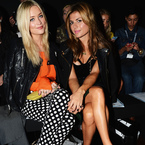 LFW SS14: Laura Whitmore's changing FROW wardrobe
