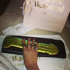Rihanna's Vivienne Westwood Cock clutch bag