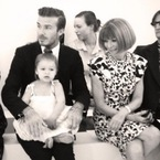 Harper Beckham's first fashion award
