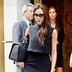 Victoria Beckham is back to head-to-toe black in NYC