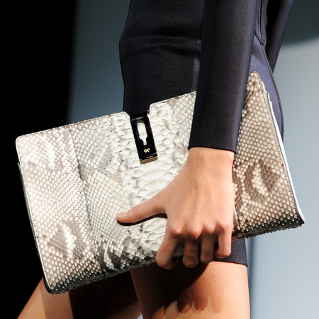 Anya Hindmarch SS14 handbags at LFW