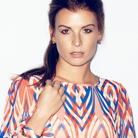 Coleen Rooney models her A/W 2013 collection for Littlewoods