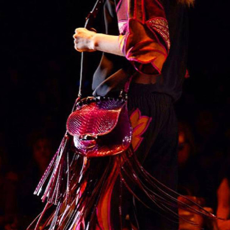 Gucci Bamboo bag SS14 at MFW