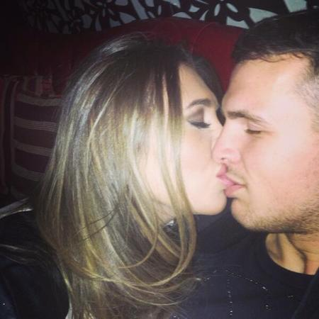 Lauren Goodger and Jake McLean Twitter