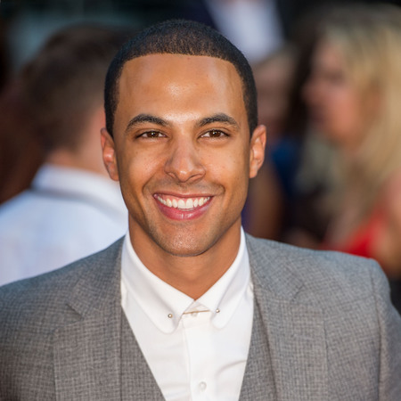 Marvin Humes at One Direction: This is Us premiere