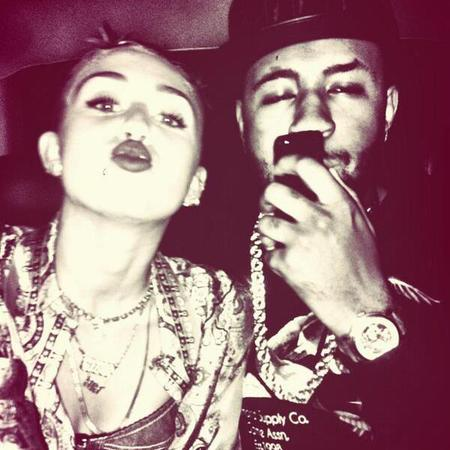 Miley Cyrus and Mike WiLL Made It rumoured relationship