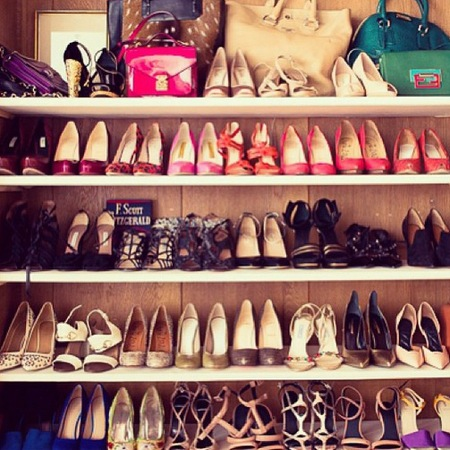 Miranda Kerr shoe collection