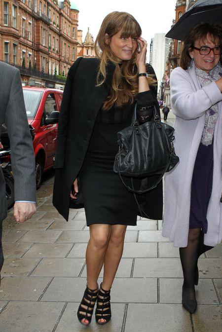 Jemima Khan at Vanity Fair Lunch in Mayfair, London