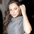 Kelly Brook shows off new long hair extensions