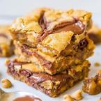 Michelle Keegan's Nutella & peanut butter 'Blondies'