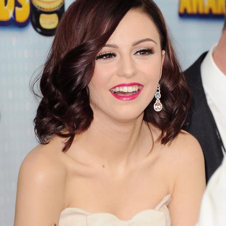 Cher Lloyd before  having her teeth fixed, veneers