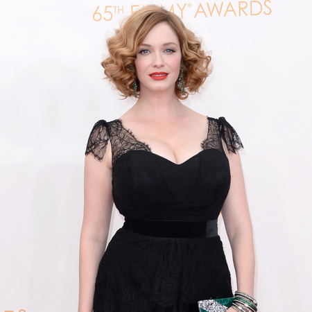 Christina Hendricks at Emmy Awards 2013