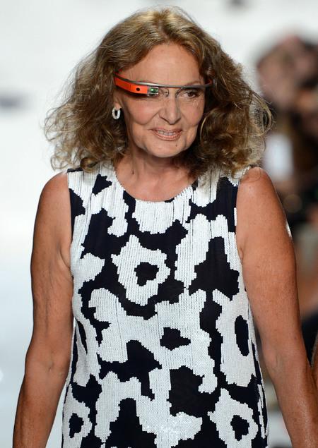 Diane Von Furstenberg at MBFW Spring 2013