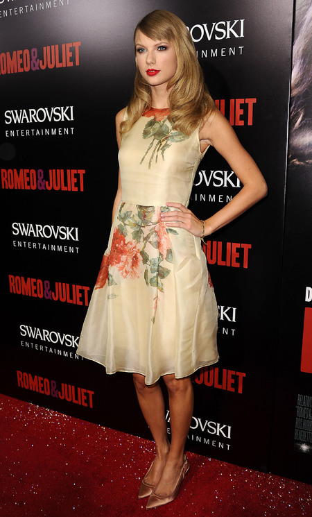 Taylor Swift at Romeo and Juliet Premiere