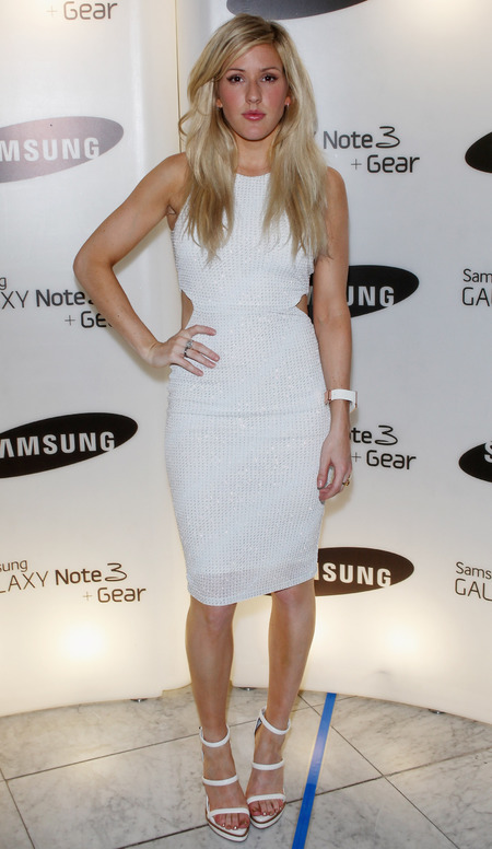 Ellie Goulding at Samsung Party