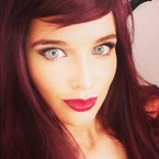 Helen Flanagan does red hair to pose for The Sun