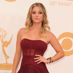 Emmys 2013: Kaley Cuoco's Vera Wang ball gown