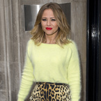 Kimberly Walsh is striking in leopard print