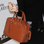 Samantha Barks' Aspinal Of London Sophia satchel bag