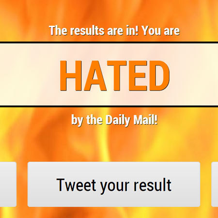 hated by Daily Mail