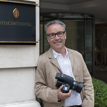 Photographer Craig Easton at InterContinental Hotels & Resorts in Europe
