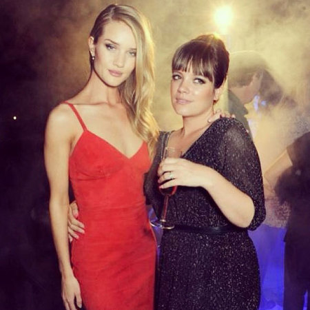 Rosie Huntington-Whiteley and Lily Allen