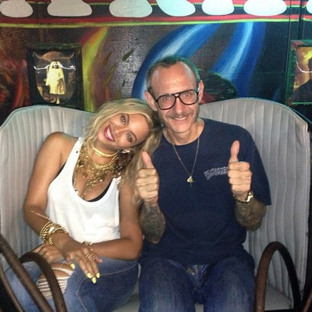 Terry Richardson with Beyonce