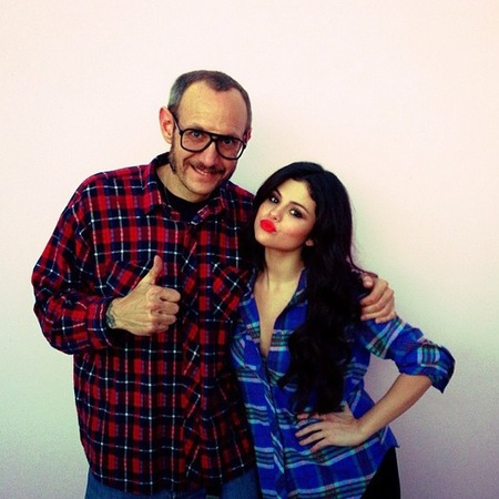 Terry with Selena Gomez
