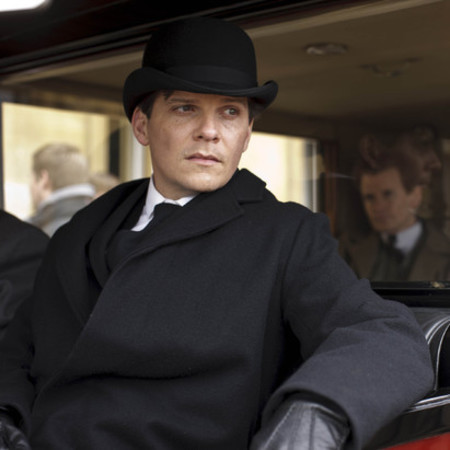 Nigel Harman as valet Green in Downton Abbey