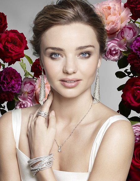 Miranda Kerr is the face of Swarovski