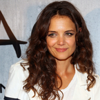 Katie Holmes swaps straight hair for sexy curls