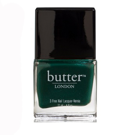 Autumn/Winter 2013 nail trends, emerald green