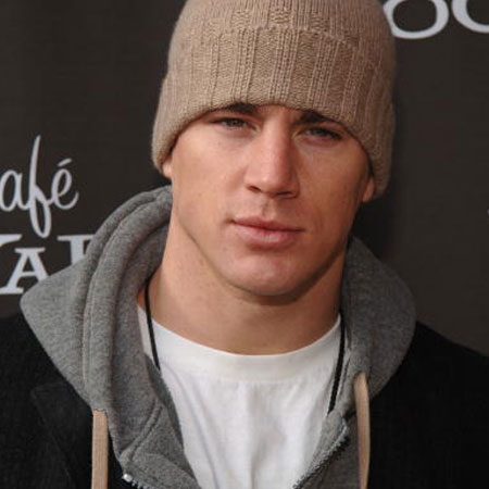 Channing Tatum at 2006 Park City, Cafe Yahoo! and W Hotel Lounge