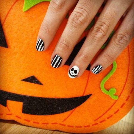 Halloween is just around the corner so send us pictures of your spookiest nails